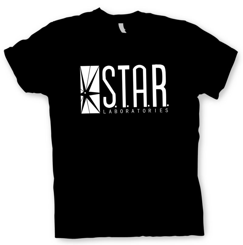 Camiseta logo STAR laboratories. The Flash