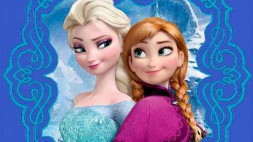 Camiseta niña Forever sisters. Frozen: el reino del hielo