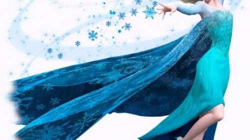 Camiseta niña Reina de las Nieves Elsa. Frozen: el reino del hielo
