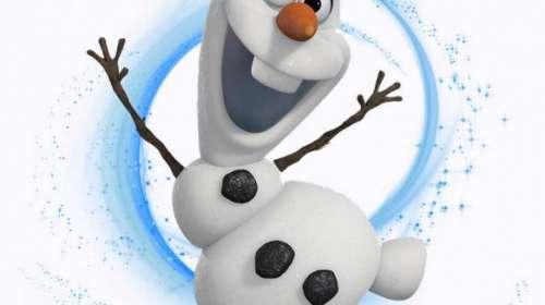 Camiseta niña muñeco de nieve Olaf. Frozen: el reino del hielo
