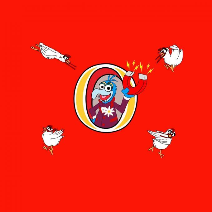 Camiseta niño Los Teleñecos (The Muppets). Gonzo imán