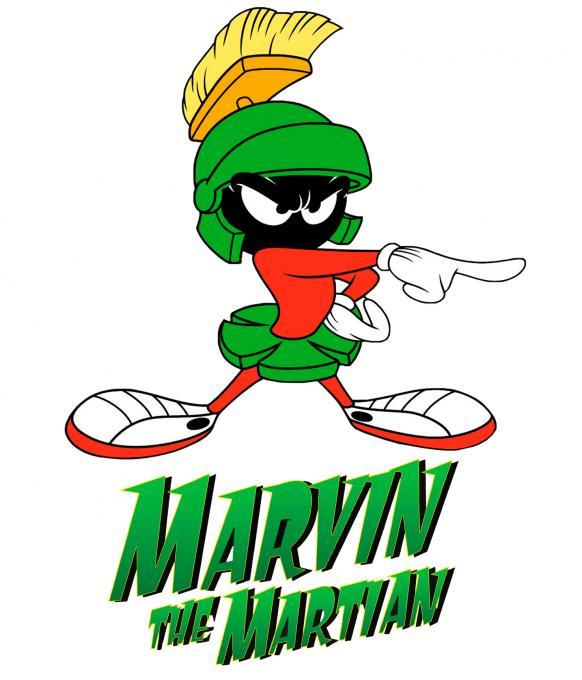 Camiseta niño Marvin el Marciano