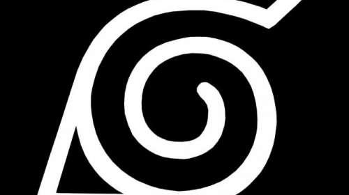 Camiseta niño Naruto. Logo Konoha.