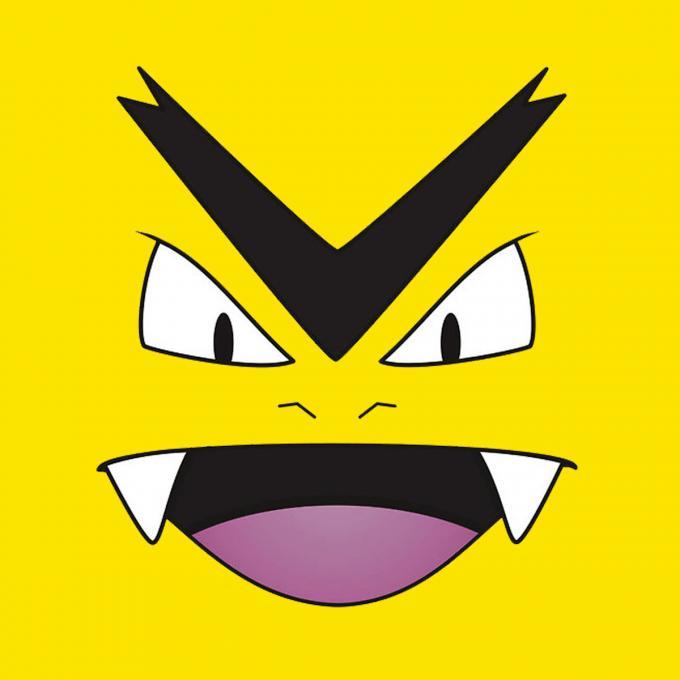 Camiseta niño Pokemon. Amarilla