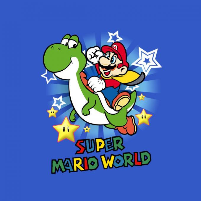 Camiseta niño Super Mario Bros. Mario World