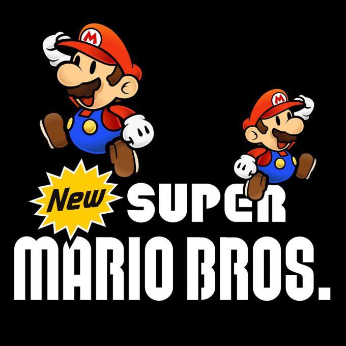 Camiseta niño Super Mario Bros. New Nintendo DS