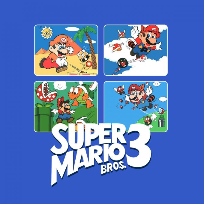 Camiseta niño Super Mario Bros. Viñetas