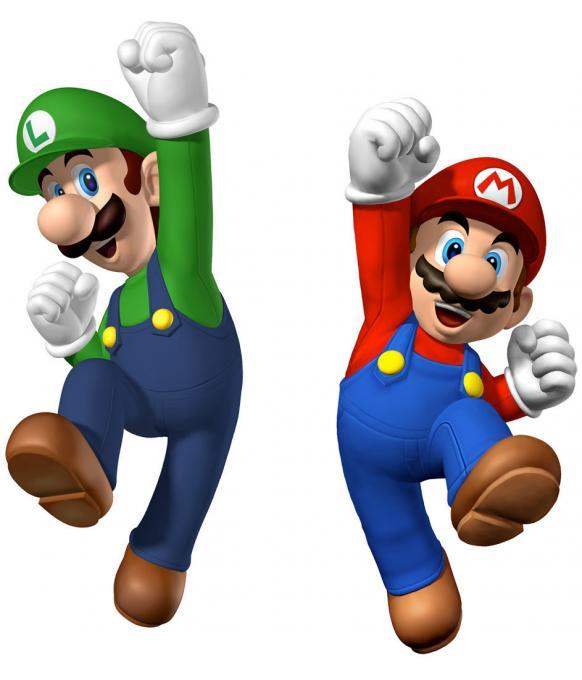 Camiseta niño Super mario Bros. Mario y Luigi