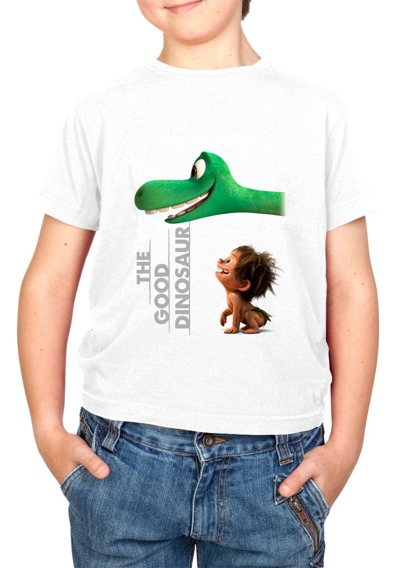 Camiseta niño miradas Spot y Arlo. El viaje de Arlo