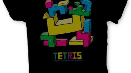 Camiseta this is an impossible game. Tetris
