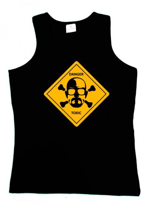 Camiseta tirantes chica Breaking Bad. Heisenberg Danger Toxic