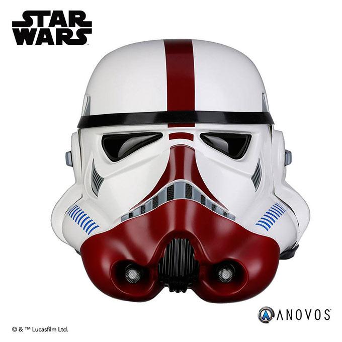 Casco Incinerator Stormtrooper. Star Wars. Escala 1:1. Anovos
