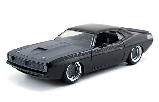 Coche Plymouth Letty's Barracuda 1970. A todo gas. Escala 1:24 Jada Toys
