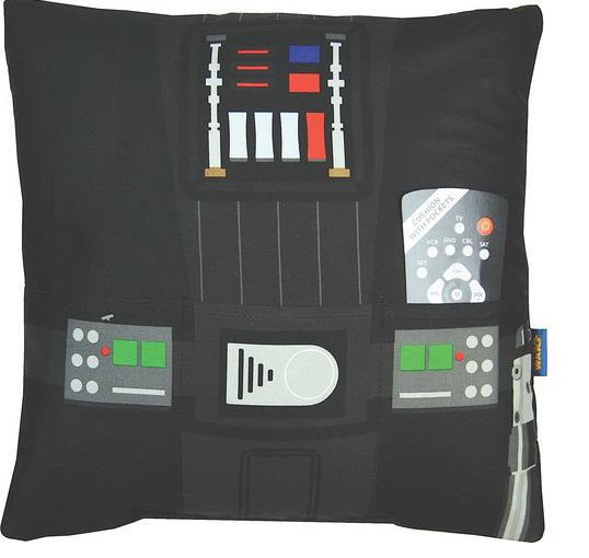 Cojín panel Darth Vader. Star Wars