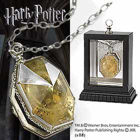 Colgante Salazar Slytherin. Harry Potter
