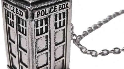 Colgante cabina Tardis. Doctor Who