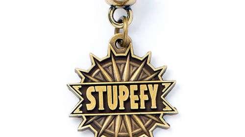 Colgante charm Hechizo Stupefy