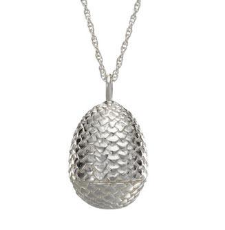 Colgante huevo de dragón. Plata de Ley. Juego de Tronos. Noble Collection