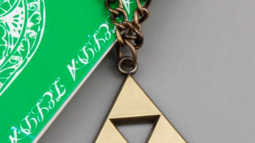 Colgante símbolo Triforce. The Legend of Zelda