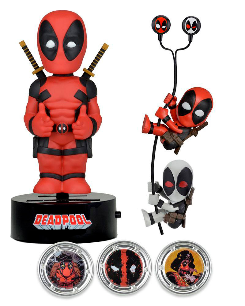 Deadpool pack de edición limitada. Marvel Cómics. NECA