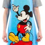 Delantal Mickey Mouse color azul. Disney. Funko