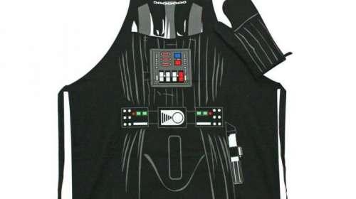 Delantal de cocina & manopla Darth Vader. Star Wars