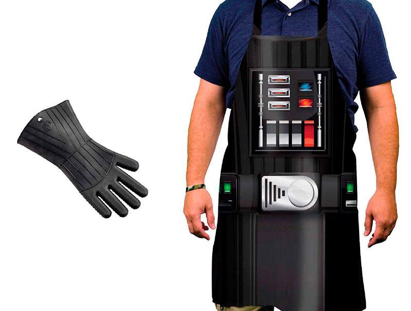 Delantal & guante horno Star Wars