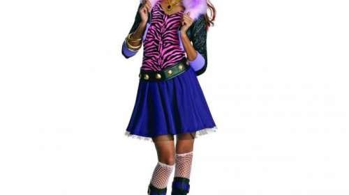 Disfraz niña Monster High. Clawdeen Wolf