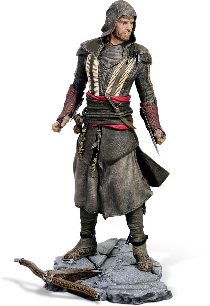 Estatua Aguilar (Michael Fassbender) 23 cm. Assassin's Creed. Ubicollectibles