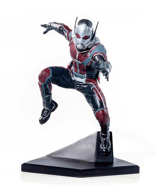 Estatua Ant-Man: El Hombre Hormiga 17 cm. Capitán América: La Guerra Civil. Escala 1:10. Marvel Cómics. Iron Studios