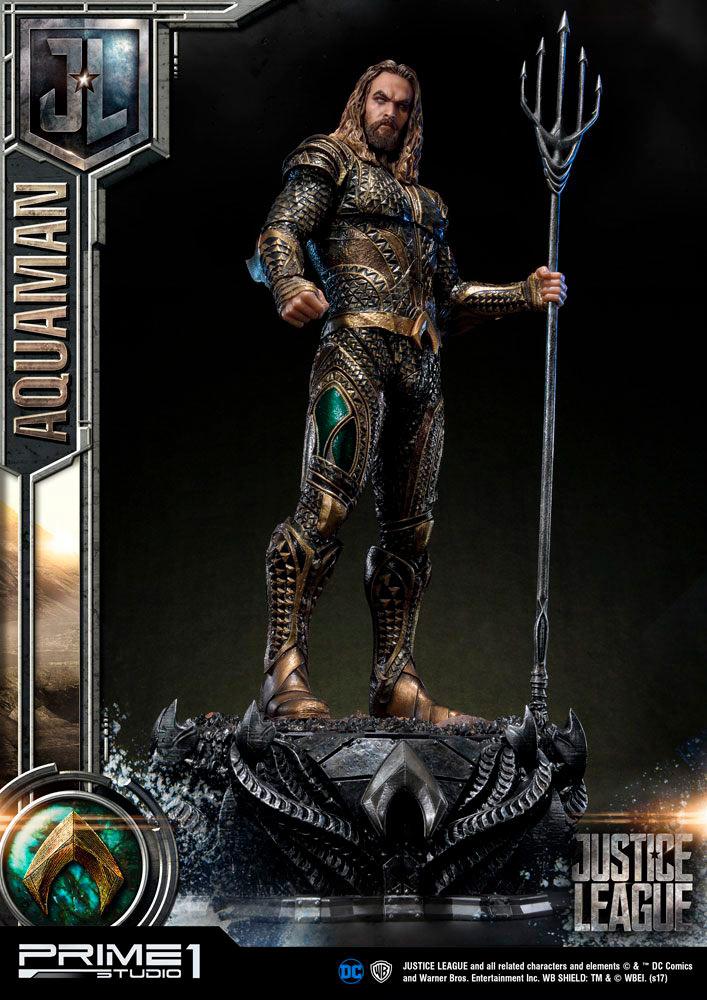 Estatua Aquaman 88 cm. La Liga de la Justicia. DC Cómics. Prime 1 Studio