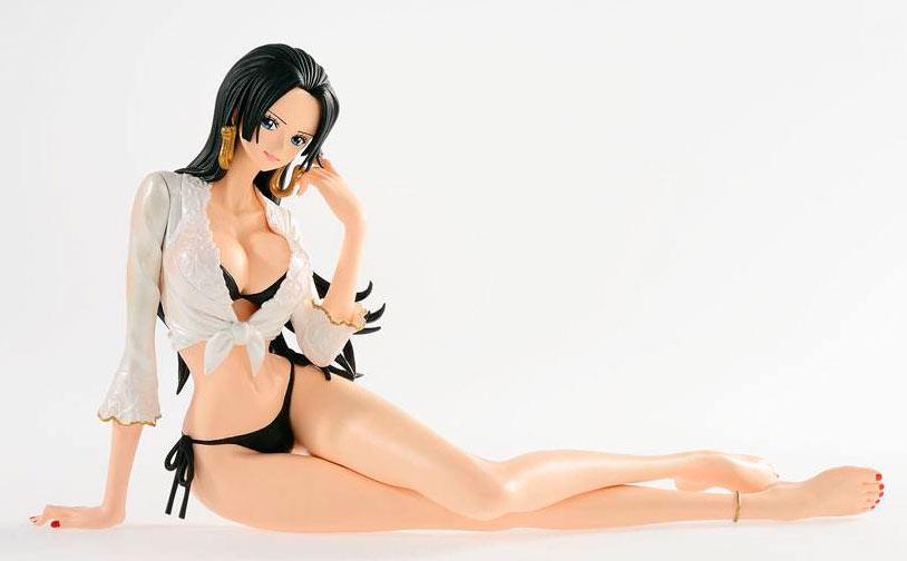 Estatua Boa Hancock 17 cm. One Piece. Línea Glitter & Glamours Shiny Venus. Banpresto