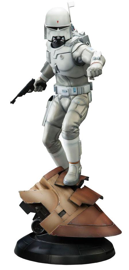 Estatua Boba Fett 47 cm. Star Wars. Diseño de Ralph McQuarrie. Sideshow Collectibles