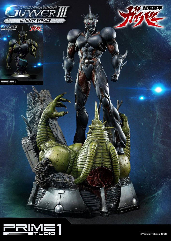 Estatua & Busto Guyver III Ultimate Edition Set. Guyver: The Bioboosted Armor. Prime 1 Studio