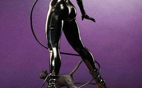 Estatua Catwoman 58 cm. Premium Format. Escala 1/4. DC Cómics. Sideshow Collectibles