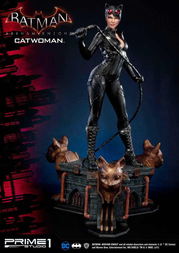 Estatua Catwoman 79 cm. Batman: Arkham Knight. DC Cómics. Prime 1 Studio