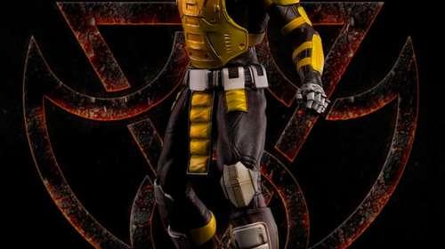 Estatua Cyrax 52 cm. Mortal Kombat 3. Escala 1:4. Pop Culture Shock