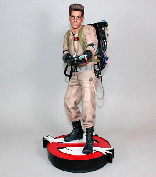 Estatua Egon Spengler 48 cm. Los Cazafantasmas. Escala 1:4. Hollywood Collectibles Group