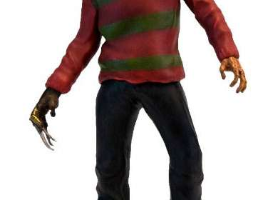 Estatua Freddy Krueger con sonido 25 cm. Pesadilla en Elm Street. Factory Entertainment
