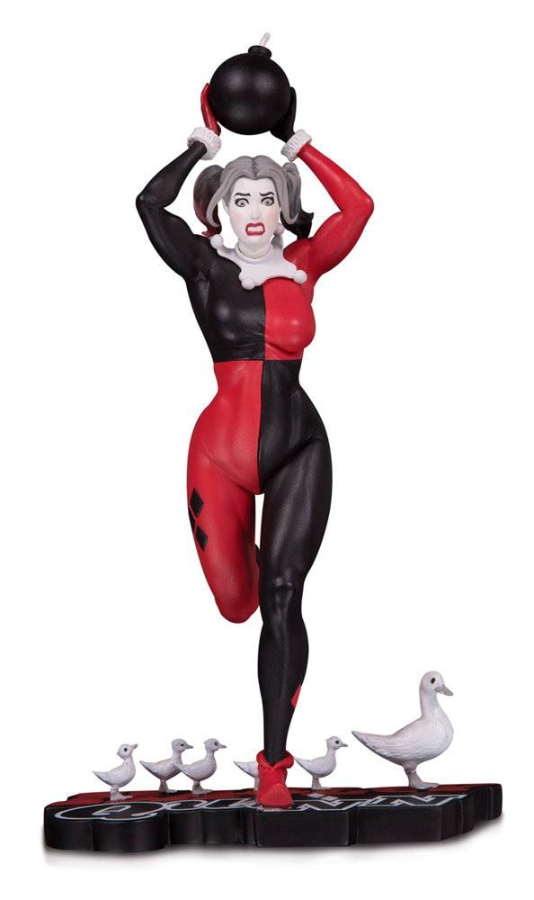 Estatua Harley Quinn 21 cm. Batman. Red