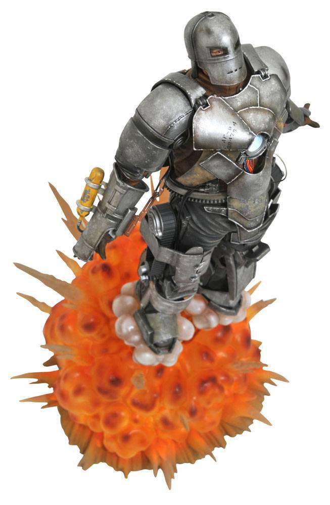 Estatua Iron Man MK1 de 36 cm. Marvel Milestones. 10º Aniversario. Diamond Select