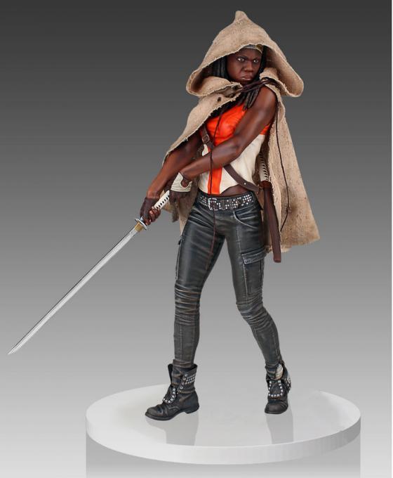 Estatua Michonne 45 cm. The Walking Dead. Gentle Giant