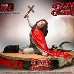 Estatua Ozzy Osbourne II 16 x 23 cm. Línea Rock Iconz. Escala 1:9. Knucklebonz