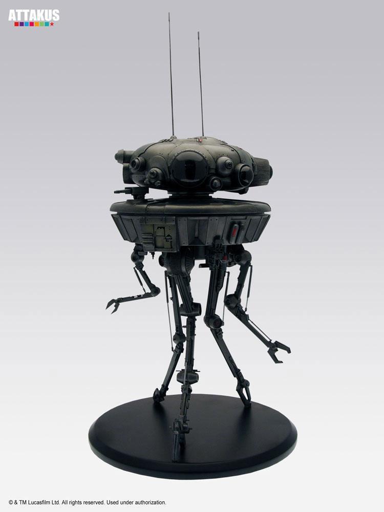 Estatua Probe Droid 22 cm. Star Wars. Línea Elite Collection. Attakus