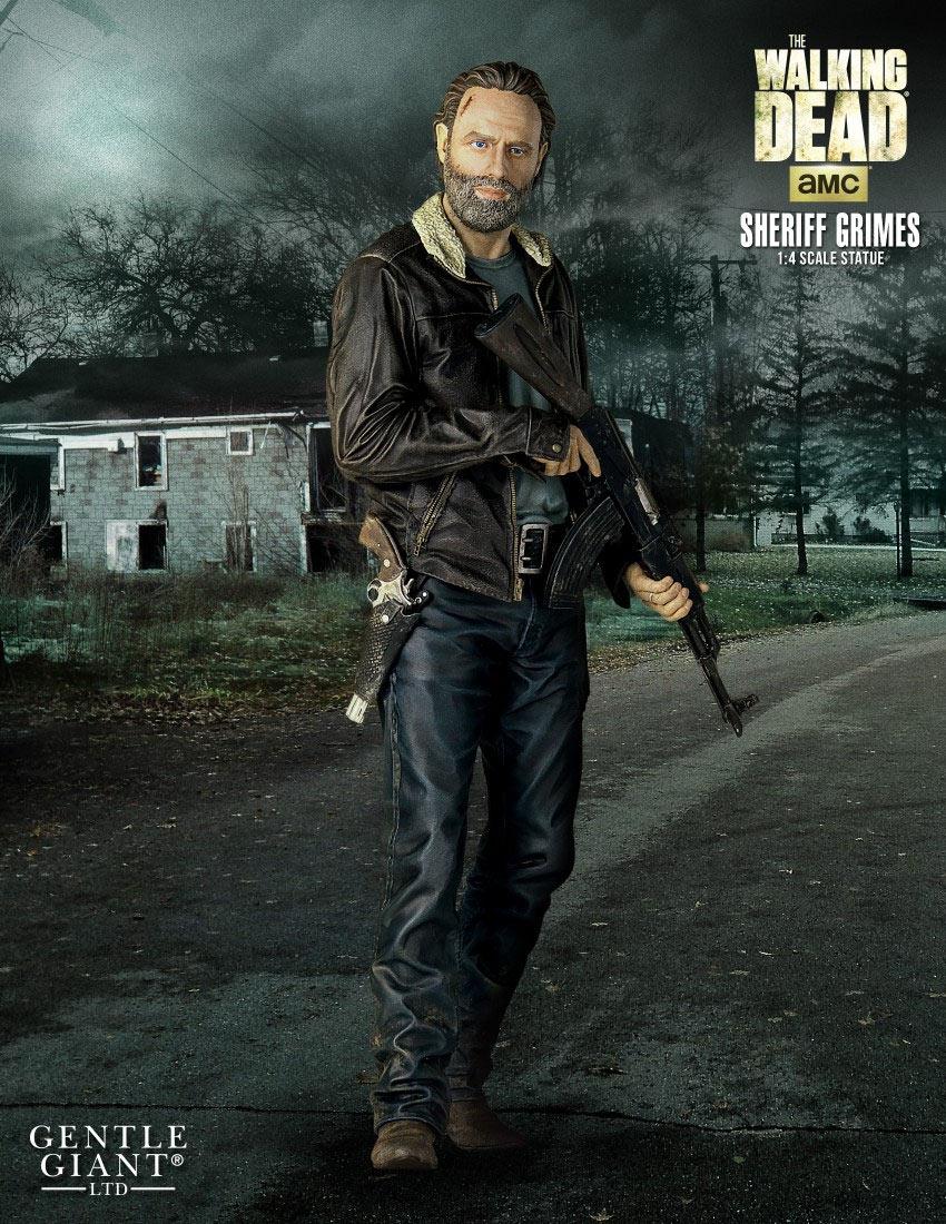 Estatua Rick Grimes 46 cm. The Walking Dead. Escala 1:4. Gentle Giant