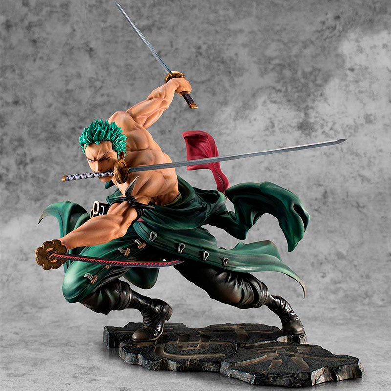 Estatua Roronoa Zoro 21 cm. One Piece. Portrait Of Pirates SA-MAXIMUM. Versión San Zen Se Kai !!!. Megahouse