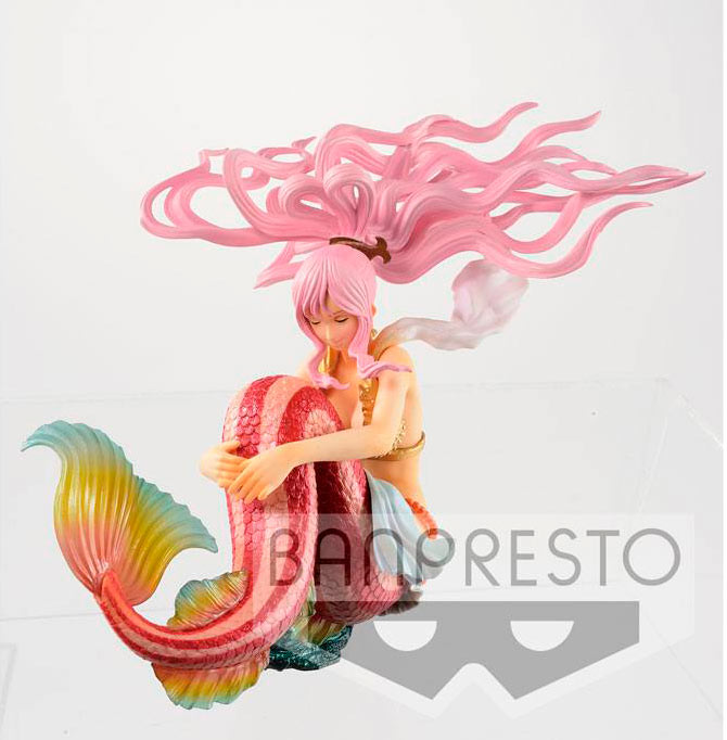 Estatua Shirahoshi Rainbow Color Ver. 10 cm. One Piece. Línea SCultures. Banpresto