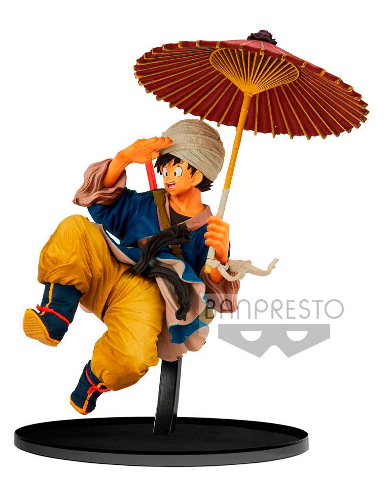 Estatua Son Goku 18 cm. Dragon Ball Z. BWFC. Normal Color. Banpresto
