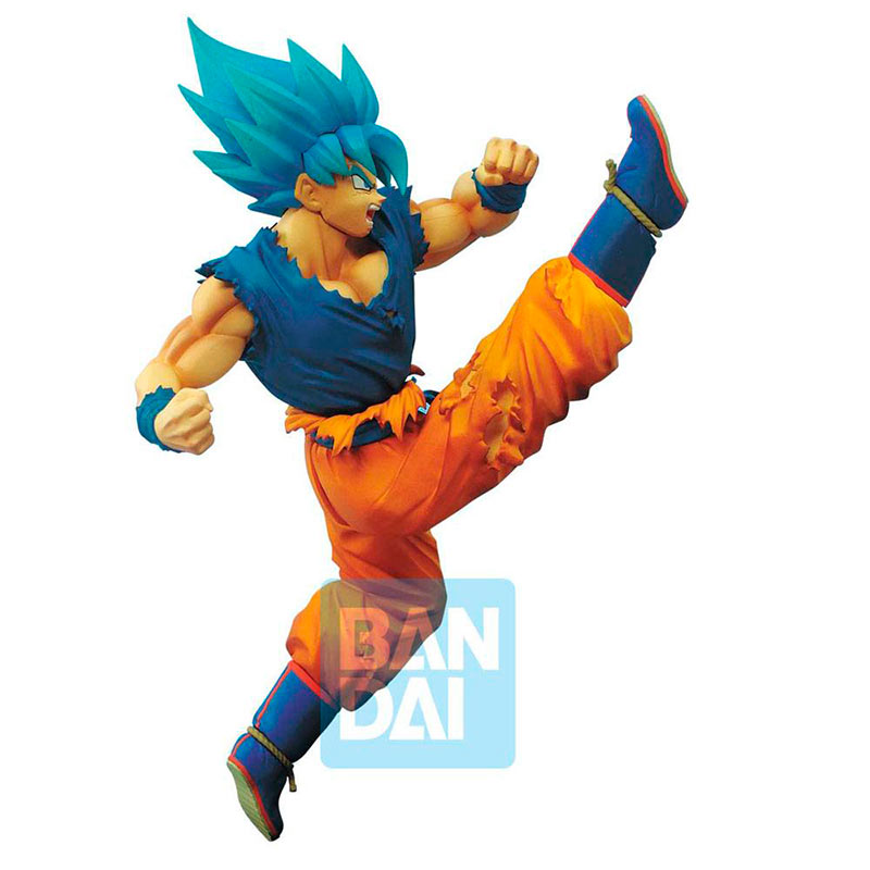 Estatua Super Saiyan God Super Saiyan Son Goku 16 cm. Dragon Ball Super. Z-Battle. Banpresto