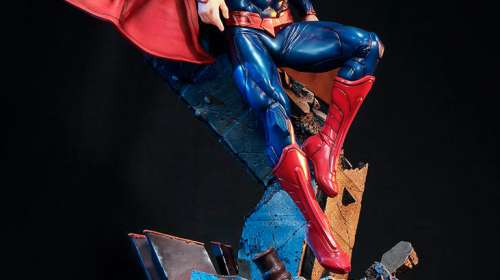 Estatua Superman 68 cm. DC Comics. Escala 1:4. Sideshow Collectibles
